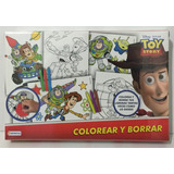 Colorear Y Borrar Toy Story Disney Clt Dts07934