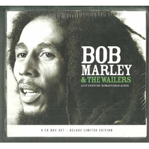 Box Com 06 Cds Bob Marley The Wailers 90 Faixas Lacrado