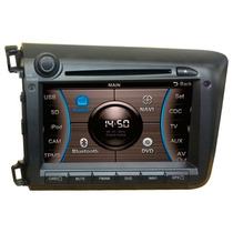 Central Multimidia Dvd Caska Honda Civic 2015 Ca277br Preto