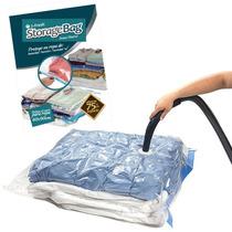 ¡ Bolsa Vacío Storage Bag Comprime Prendas 90x60cm Vacum !!