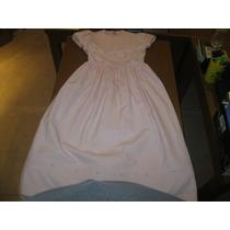 Vestido Rosa Talla 9 Años