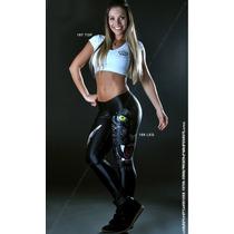 Calça Preta Pantera Leg Legue Legging Para Academia Crossfit