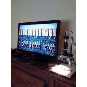 Video-microscopio Optem Con Camara Zoom Hasta 70x