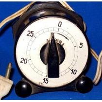 Rebajado Antiguo Timer Baquelita ¡ Vealo ! Electricidad