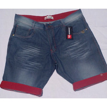 Bermudas Masculinas Jeans Varias Marcas Pra Acabar Estoque
