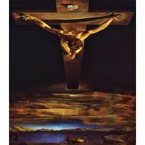Lienzo Tela Cristo San Juan De La Cruz Salvador Dalí 70x100