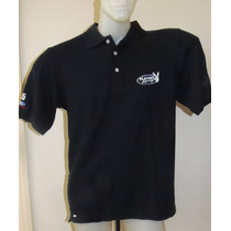 Camisa Polo Preta Playboy Ford Racing Nova M G