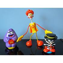 Bonecos Mascote Coleção Turma Ronald Mc Donald
