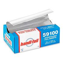 6 Paquetes Handi Foil 500 Hojas Papel Aluminio C/u 22x27cm
