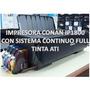Impresora Canon Ip1800 Sistema De Tinta Comestible Vegetal