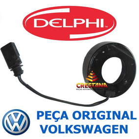 Bobina Magnetica Do Compressor Delphi Cvc Golf 1.6 8v 98/07