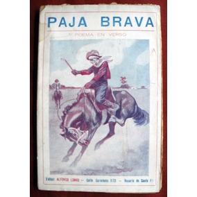 Abaca, Hilarión: Paja Brava. Poema En Verso.