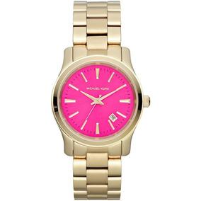 Relógio Michael Kors Mk 8200 Lançamento Rosa Original - Relógios De ... d1e2c4c875