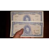 Billetes Medio Escudo Antiguos