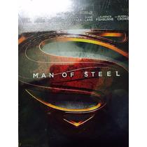 Superman El Hombre De Acero Man Of Steel En Steelbook Bd+dvd