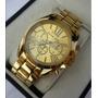 Reloj Para Dama Dorado Mk Michael Kors