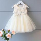 Vestido Infantil Festa Criança Casamento Brilho Princesa