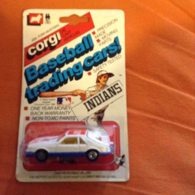 Corg Cleveland Indians Baseball Tranding Cars Ford Mustang