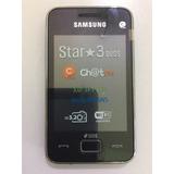 Celular Samsung Star 3 Duos S5222 Dual Chip Câmera 3 Mp Orig