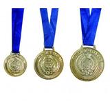 200 Medalhas Rema Ref.4430 Ouro/prata/bronze 34mm C/fita