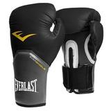 Luva Boxe Elite Pro Style Everlast - Preta - 12oz