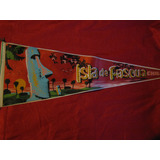 Banderín Antiguo Isla De Pascua
