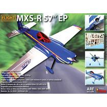 Aeromodelo Arf Mxs-r - P/ Motores .40/46 3d 57