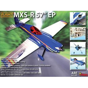 Aeromodelo Arf Mxs-r - P/ Motores .40/46 3d Aeromodelismo
