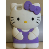 Capa Case De Silicone 3d Hello Kitty Iphone 4 E 4s