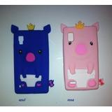 Capa Case Lg Optimus L9 - Porco Rei Pig Porquinho - Cada