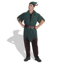 Disfraz Niño Traje Clásico De Disney Peter Pan Masculino Di