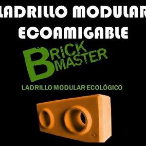 Maquina Prensa Manual Ladrillo Modular Ecológico Lego