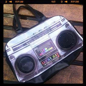Bolsa Com Caixa De Som E Amplificador - H A Retro Shop