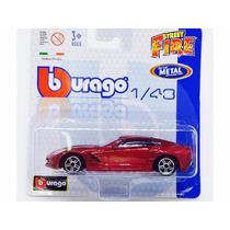 Miniatura De Corvette Stingray 20014 Street Fire 1:43 Burago