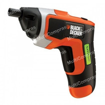 Black & Decker Atornillador Inalámbrico Recargable Portatil