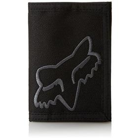 Cartera Del Sr. Limpio Velcro De Los Hombres Del Fox, Negro,