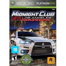Midnight Club Los Angeles Complete Edition Xbox 360 Física
