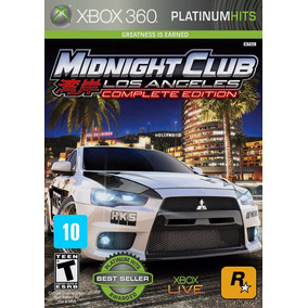 Midnight Club Los Angeles Complete Edition Xbox 360 Física