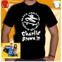 Camiseta Charlie Brown Jr Camisa Cbjr Bandas Rock Skate 013
