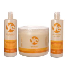 Kit Yellow Liss Therapy Shampoo + Condicionador + Máscara