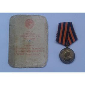 Medalha Soviética Vitória Sobre 3º Reich, Documentada 1947