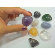 Pedras Mistas Roladas 1 Kilo Gemas No Atacado P/artesanato !
