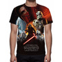 Camisa, Camiseta Star Wars O Despertar Da Força Mod 02