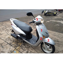 Carenagem Lead Prata 2010 - Original Honda