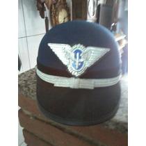 Quepe De Policia Feminino Azul Força Aérea Brasileira