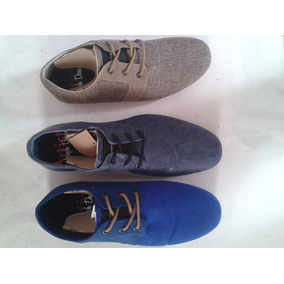 Zapatos Oxford Mocasines Capa De Ozono C&a Bostoneanos Gris