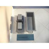 Forma Para Fabricar Meio Bloco 19x19x39 De Cimento Faz 2 Uni