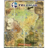 Cartão De Telefone-puzzle Mapa 500 Anos--r$20,00