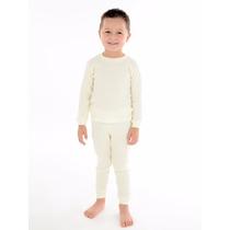 Conjunto Frio Infantil Canelado Calça + Blusa 1 2 3 4 Anos