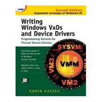 Libro Writing Windows Vxds And Device Drivers, Karen Hazzah